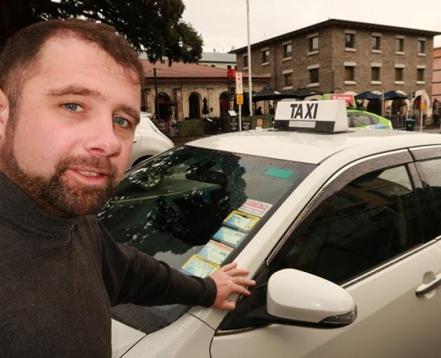 Independent cabbie Danny Flynn says a few bad apples are spoiling the bunch. Photo: Scene