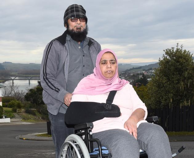 Mohammed Kalim and his wife Firoza Begum. PHOTO: GREGOR RICHARDSON