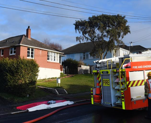 A fire contained to the kitchen of a Balmain St home in Halfway Bush, Dunedin, was attended by...