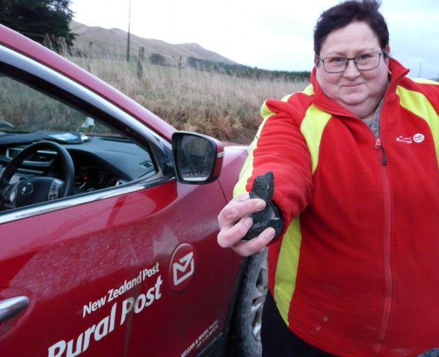 New Zealand Post rural delivery contractor Megan Pope. PHOTO: RICHARD DAVISON