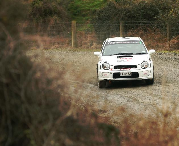 Consistent driving enabled Garet Thomas (Impreza WRX), of Darfield, to win the Catlins Coast...