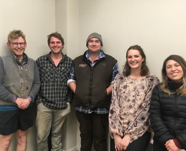 The 2019 Central Otago Burgundy Exchange students who will spend several weeks in France, as part...