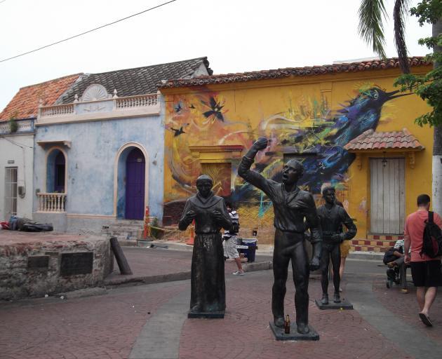 Plaza Trinidad in Getsemani.