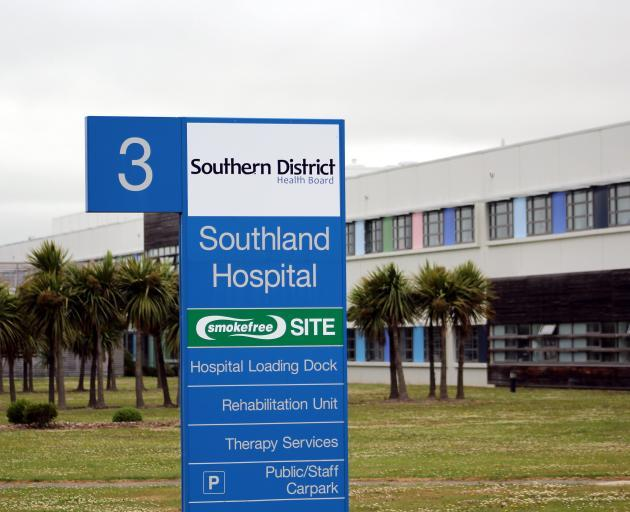 Southland Hospital. Photo: ODT Files