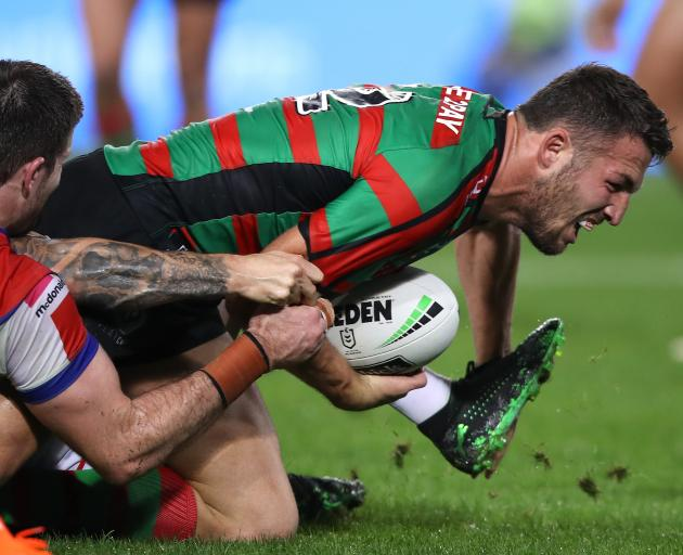 Rabbitohs hard-man Sam Burgess. PHOTO: GETTY IMAGES