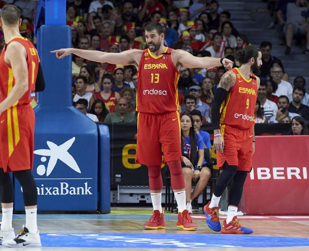 Marc Gasol (centre). Photo: Getty Images