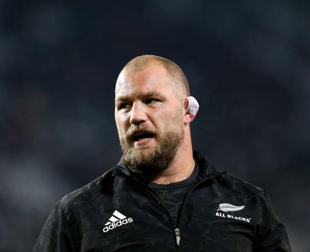 """Coach Steve Hansen paid tribute to Owen Franks saying, """"He is one of the great All Blacks. He's..."""
