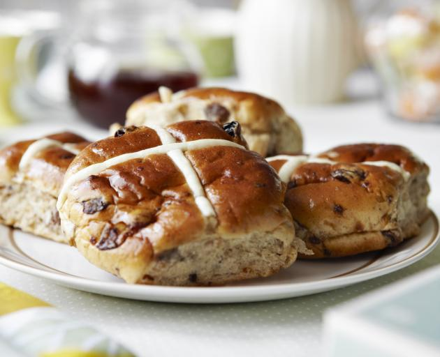 Coles now sell hot cross buns all year round