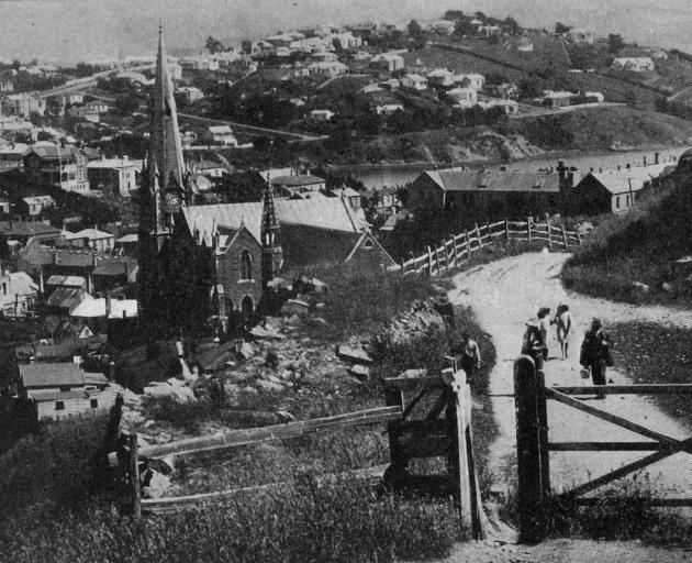 The Quarry Road, Port Chalmers. - Otago Witness, 6.8.1919