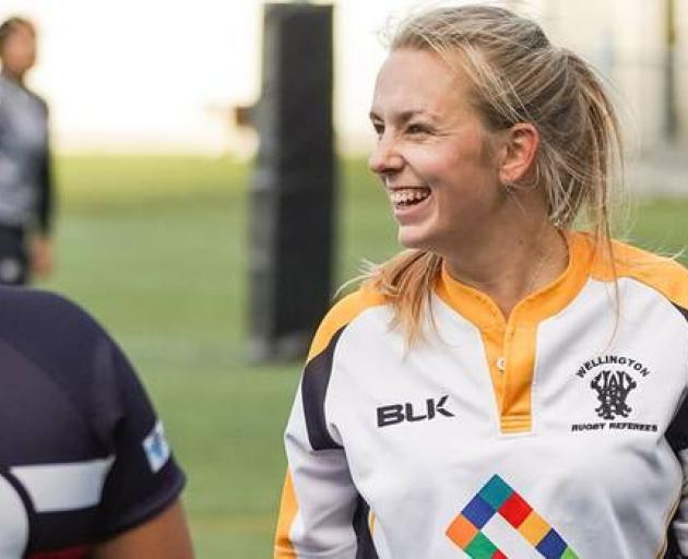 Wellington-based rugby referee Monique Dalley helped save a 14-year-old boy's life after he lost consciousness and stopped breathing during a rugby game. Photo: Supplied via NZME.
