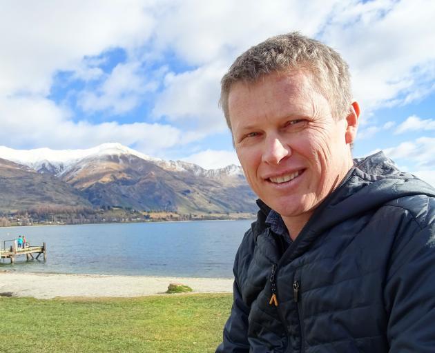 Lake Wanaka Tourism general manager James Helmore. PHOTOS: ODT