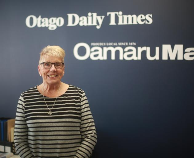 Fifty years on, Dawn Murphy is still a welcoming face at the Oamaru Otago Daily Times office....