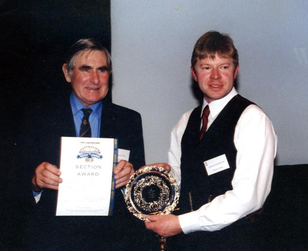 Richard won a trophy at the Australian International Neer Awards for his Weissbier, but was so...