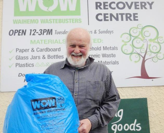 Waihemo Wastebusters outgoing chairman Pat Shannon says while there are challenges facing the...