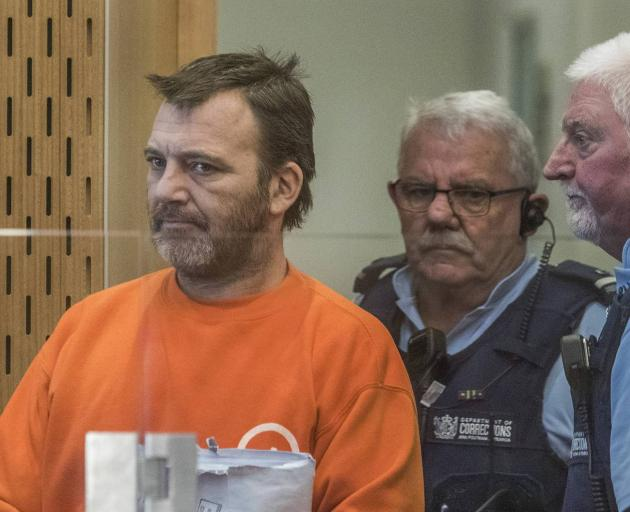 Philip Arps was sentenced on charges relating to the posting of the live streaming of the mosque...