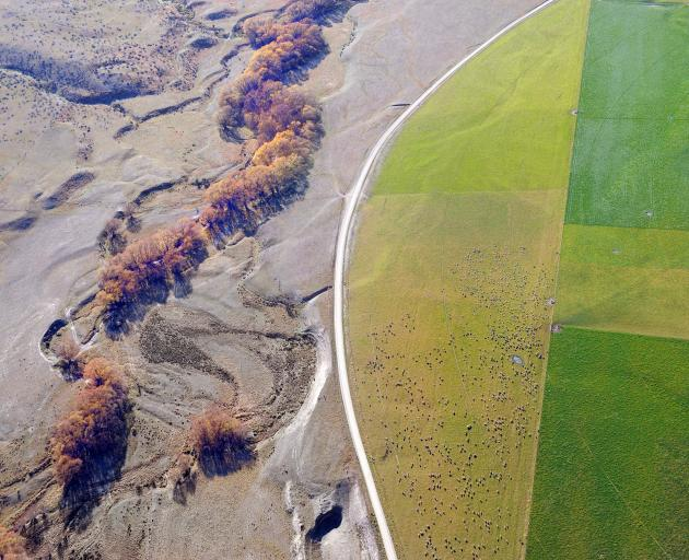 Irrigation has transformed large tracts of Otago farmland. PHOTO: STEPHEN JAQUIERY