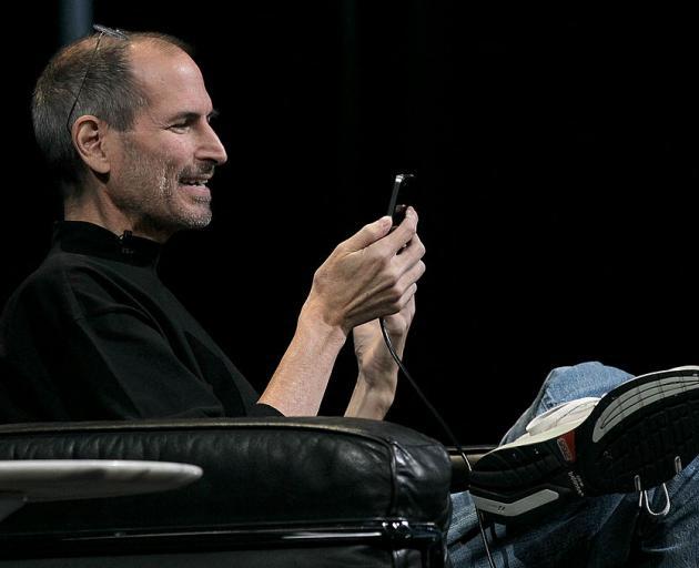 The late Steve Jobs. Photo: Getty