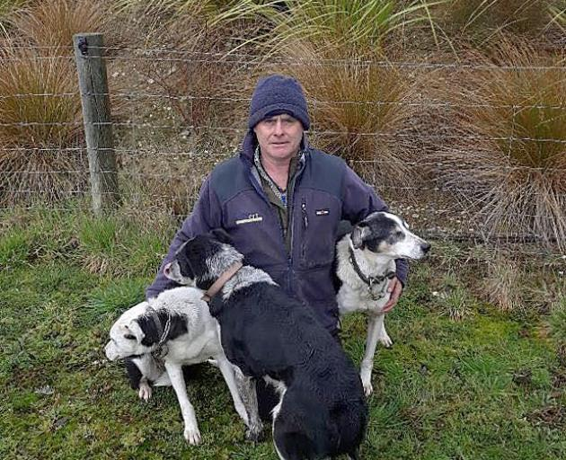 Trevor Roughan has three dogs entered in this week's Southern Indoor Charity Dog Trial. Photo:...