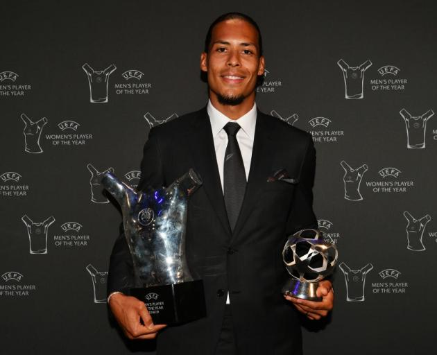 Van Dijk Bronze Claim Top Uefa Awards Otago Daily Times Online News