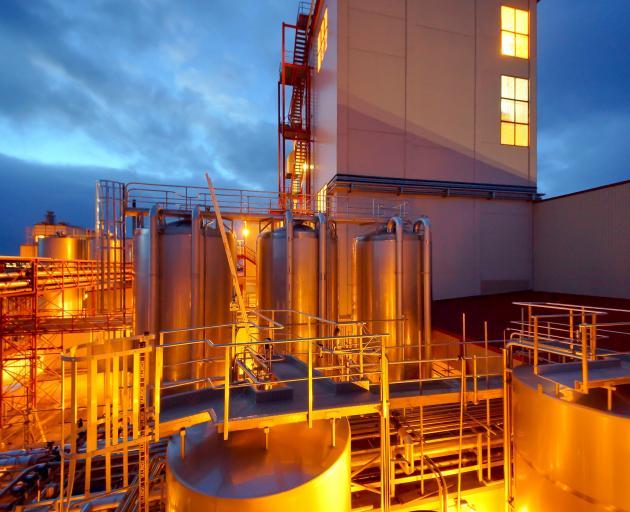 Westland Milk Products' factory in Hokitika. PHOTO: SUPPLIED