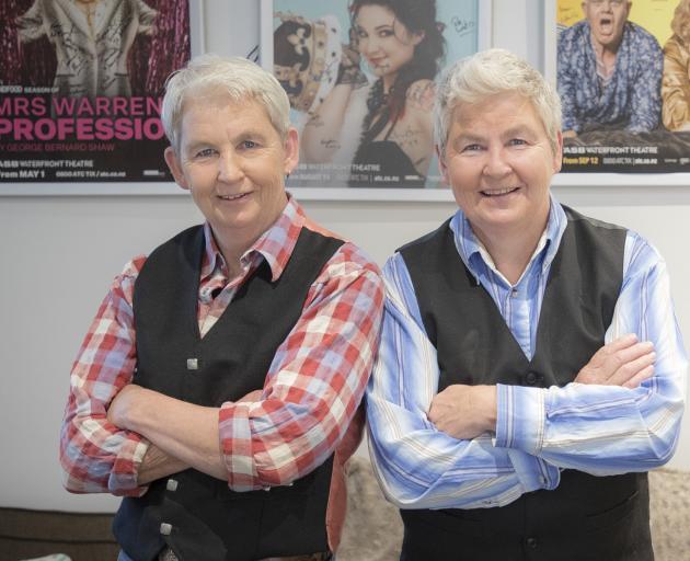 Dames Jools Topp and Lynda Topp. Photo: NZ Herald