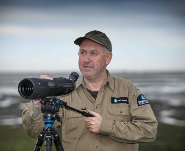City council park ranger Andrew Crossland has more than 20,000 pages of field notes on different...