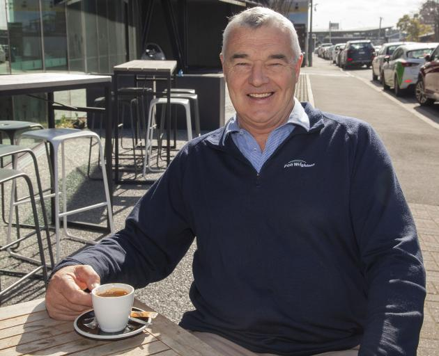 Athol Earl is used to meeting for coffee with his role as sales manager for PGG Wrighton real...