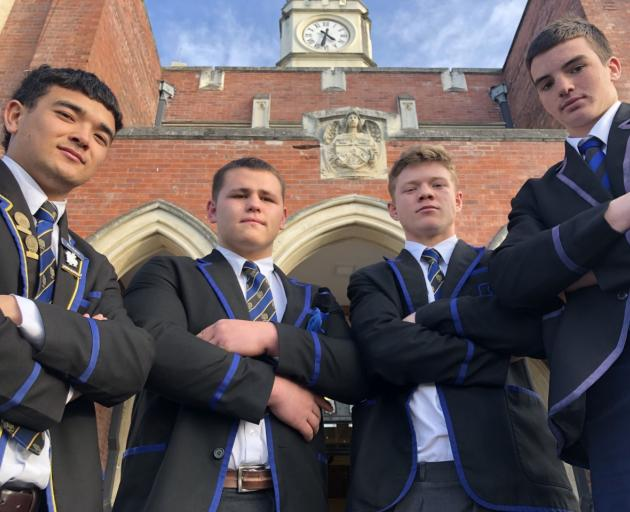 Max Hughes, Ben Lopas, Ollie Lewis and Jamie Hannah have been selected in the NZ Schools and...