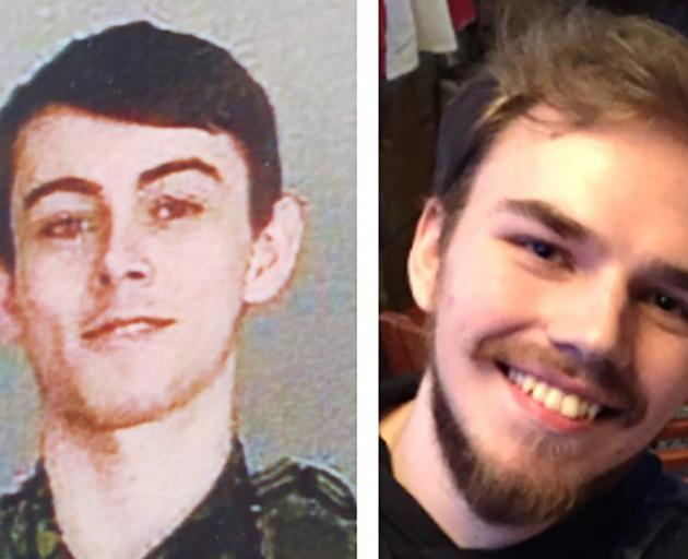 Bryer Schmegelsky (left) and Kam McLeod sparked a nationwide manhunt after killing three people...