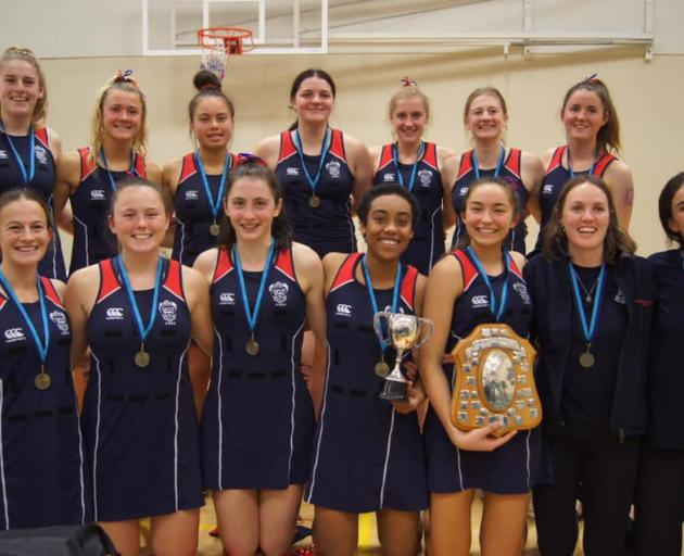 "CGHS won the South Island Secondary Schools netball tournament final for the first time in 51 years.Photo"" Supplied"