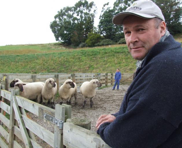 Tapui farmer John Dodd has been made a life member of the North Otago A&P Association. Photo: Allied Press Files