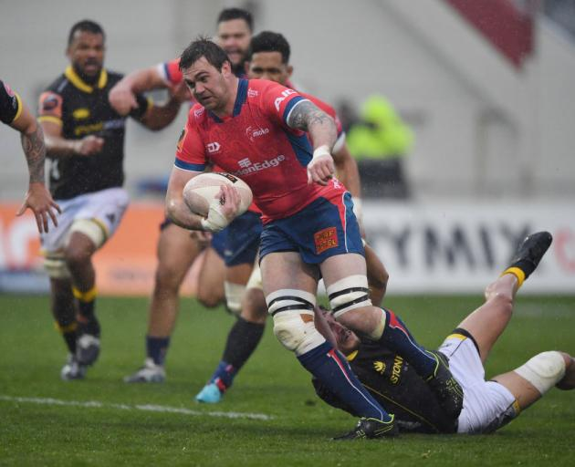 Liam Squire in action for Tasman. Photo: Getty Images
