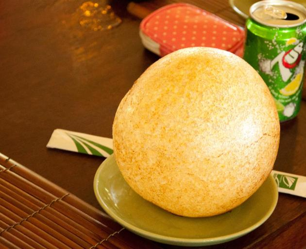 Fried sticky rice ball. Photo: Getty Images.