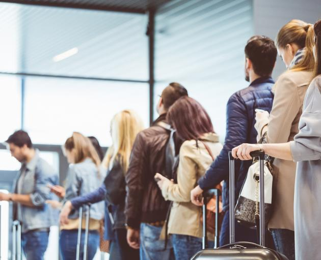 Airports are so appalling that nobody has the heart to invent jokes about them. PHOTO: GETTY IMAGES