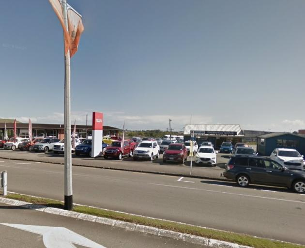 Greenfield Motors in Greymouth. Photo: Google Maps
