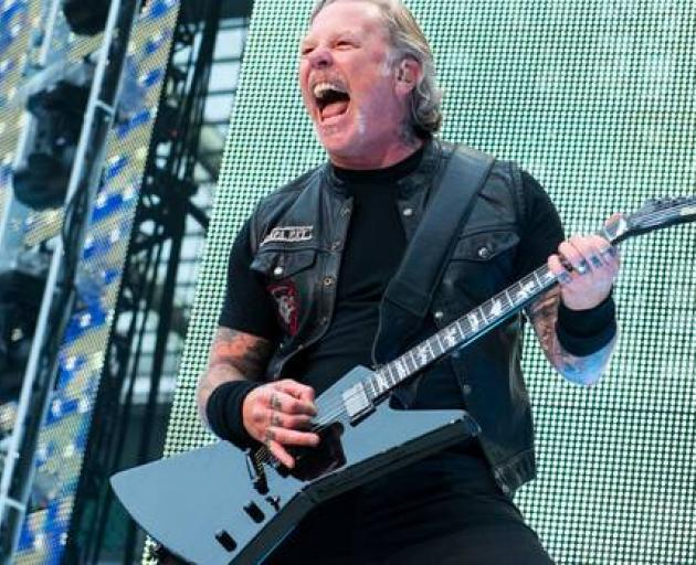 Metallica frontman James Hetfield has re-entered a treatment programme to work on his addiction recovery. Photo: Getty Images