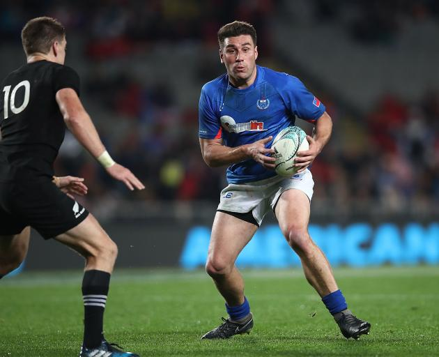 Former New Brighton and Crusaders midfielder Kieron Fonotia will make his World Cup debut with Samoa. Photo: Getty