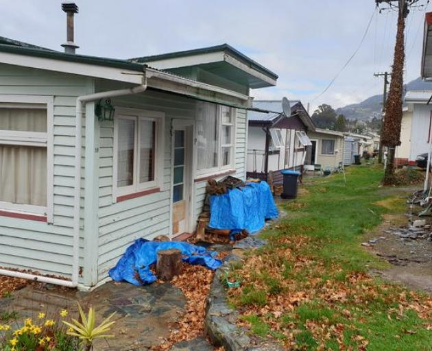 Accommodation at the Lakeview camping ground. Photo: RNZ
