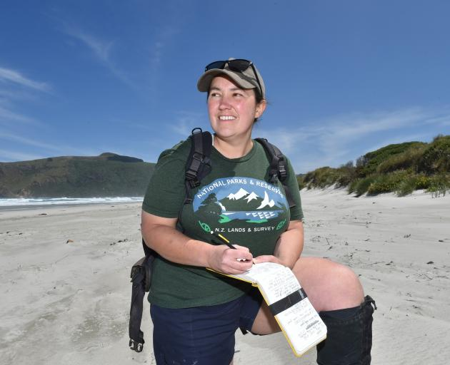 University of Otago PhD candidate Mel young has been tracking the hoiho diet. PHOTO: GREGOR...