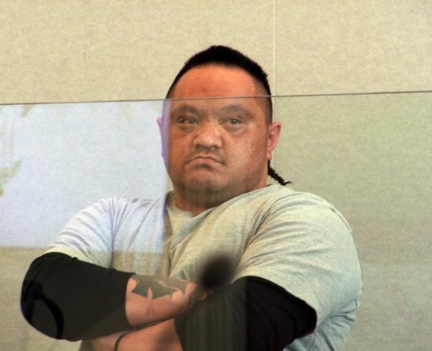 Muru Muru Taana-Andrews used standover tactics to swindle large sums of money from his victim....
