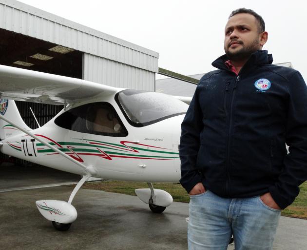 Oamaru-based New Zealand Air Academy chief flying instructor Celroy Mascarenhas says flying...