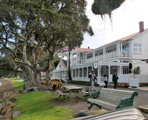 The waterfront Duke of Marlborough Hotel, in Russell, has been hosting Bay of Islands...