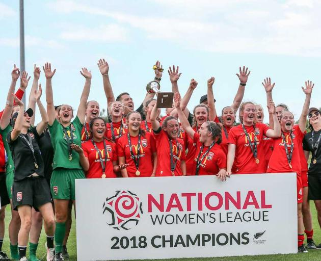 The Pride won their fourth National Women's League title in December.