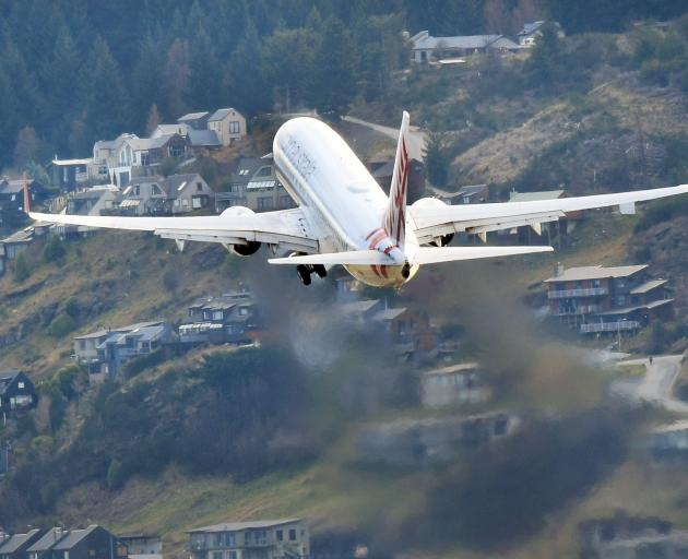 There is little doubt Queenstown Airport will reach its capacity in the near future. PHOTO:...