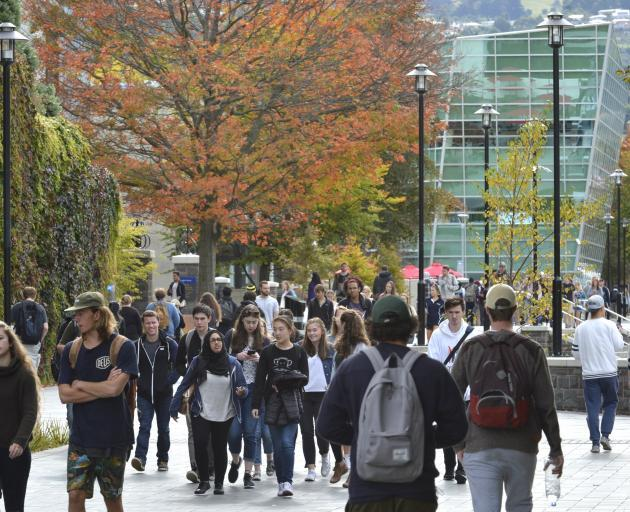 OUSA represents more than 17,000 students attending the University of Otago. Photo: ODT files