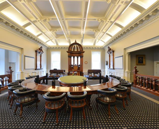 The Dunedin City Council debating chamber, where decisions are made. Photo: ODT files