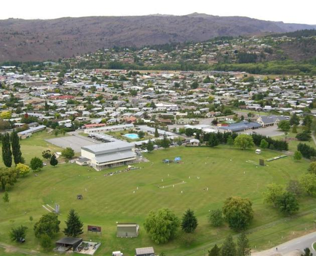 Young cricketers compete in the 47th annual South Island primary schools cricket tournament at...