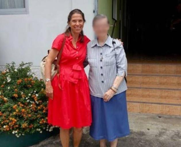 Countess Veronika Leeb-Goess-Saurau (left). Photo: Supplied via RNZ