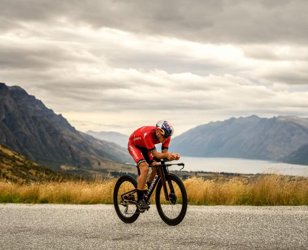 Wanaka triathlete Braden Currie will race in the Ironman World Championships in Kona on Sunday. Photo: Sean Beale