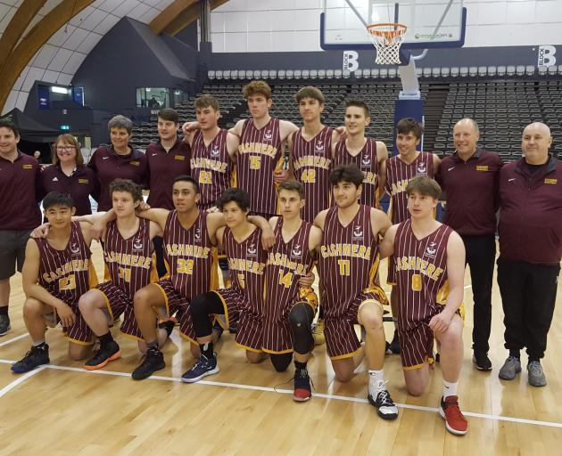 Cashmere High School finished fourth at the national secondary schools' basketball championships. Photo: Cashmere High School